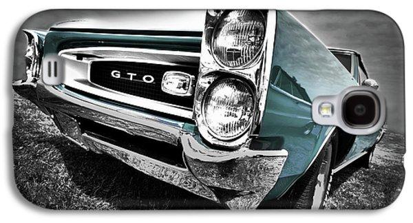 Art Mobile Galaxy S4 Cases - 1966 Pontiac GTO Galaxy S4 Case by Gordon Dean II