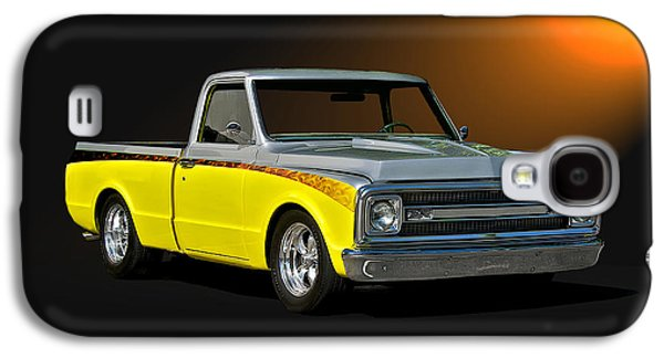 Slam Galaxy S4 Cases - 1969 Chevrolet C10 Pick Up Galaxy S4 Case by Dave Koontz