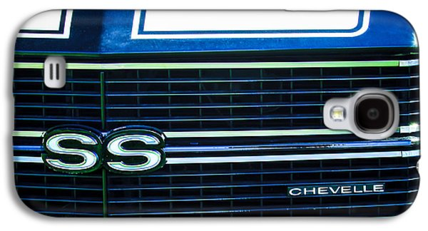 1970 Chevrolet Chevelle Ss Grille Emblem Galaxy S4 Case by Jill Reger