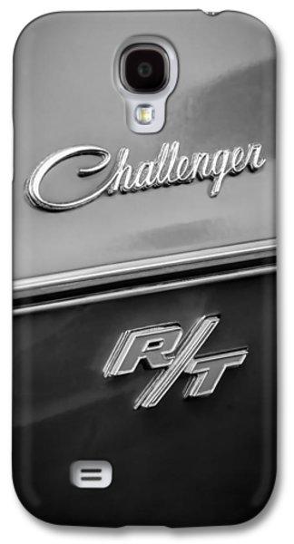 Challenger Galaxy S4 Cases - 1970 Dodge Challenger RT Convertible Emblem Galaxy S4 Case by Jill Reger