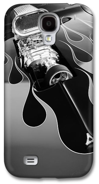 Challenger Galaxy S4 Cases - 1971 Dodge Challenger 440 Hot Rod Engine Galaxy S4 Case by Jill Reger