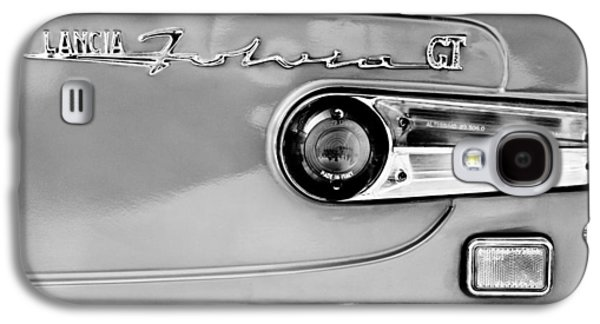 Transportation Photographs Galaxy S4 Cases - 1975 Lancia Fulvia 1.3S GT Berlina Taillight Emblem Galaxy S4 Case by Jill Reger