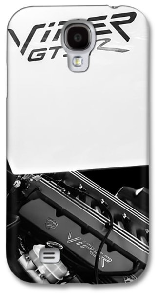 Transportation Photographs Galaxy S4 Cases - 1998 Dodge Viper GTS-R Engine Galaxy S4 Case by Jill Reger