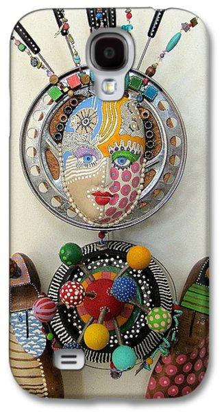Father Sculptures Galaxy S4 Cases - A FunDoo Pot Galaxy S4 Case by Keri Joy Colestock