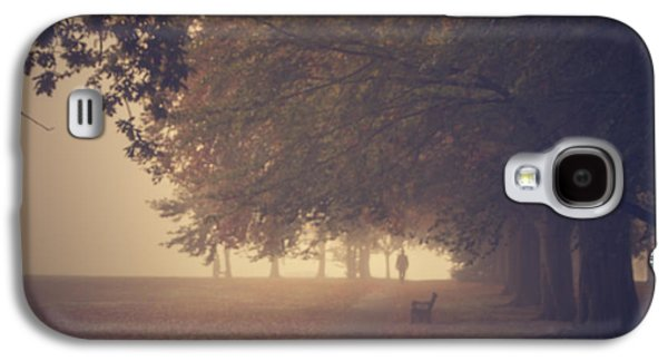 Person Galaxy S4 Cases - A misty morning Galaxy S4 Case by Chris Fletcher