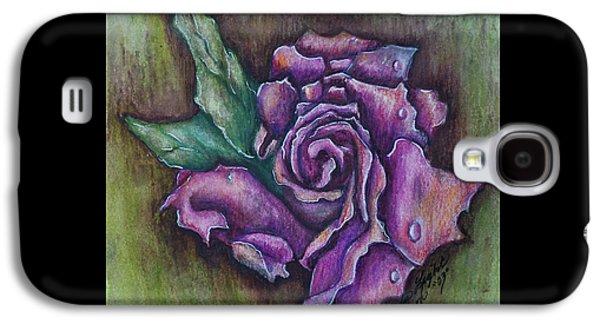 A Rose    Galaxy S4 Case by Linda Simon