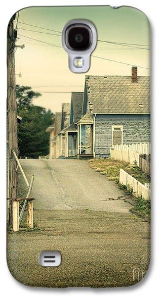 Telephone Poles Galaxy S4 Cases - Abandoned Shacks Galaxy S4 Case by Jill Battaglia