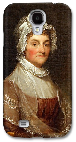 Cora Wandel Galaxy S4 Cases - Abigail Smith Adams By Gilbert Stuart Galaxy S4 Case by Cora Wandel