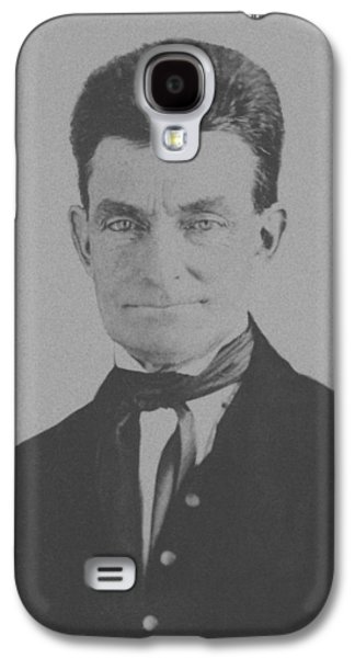 Slavery Mixed Media Galaxy S4 Cases - Abolitionist John Brown Galaxy S4 Case by War Is Hell Store