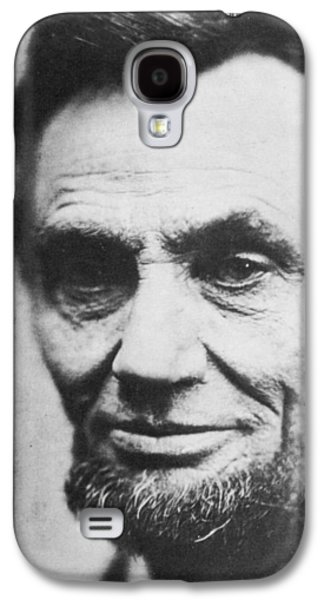 Historical Figures Galaxy S4 Cases - Abraham Lincoln Galaxy S4 Case by Anonymous