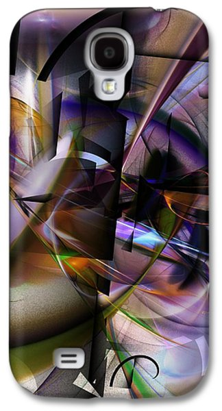 Abstract Digital Galaxy S4 Cases - Abstract 062913 Galaxy S4 Case by David Lane