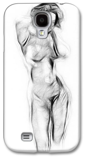 Girl Galaxy S4 Cases - Abstract Nude Galaxy S4 Case by Stefan Kuhn