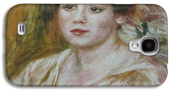 Adele Paintings Galaxy S4 Cases - Adele Besson Galaxy S4 Case by Celestial Images