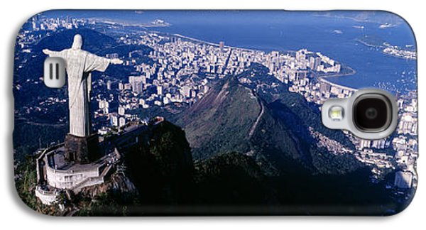 Recently Sold -  - Landmarks Photographs Galaxy S4 Cases - Aerial, Rio De Janeiro, Brazil Galaxy S4 Case by Panoramic Images