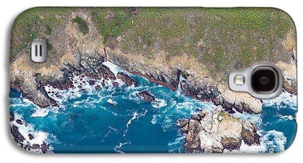 Big Sur Beach Galaxy S4 Cases - Aerial View Of A Coast, Big Sur Galaxy S4 Case by Panoramic Images