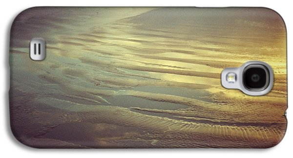 Agate Beach Oregon Galaxy S4 Cases - Agate Beach Sunset Galaxy S4 Case by Andrea Gingerich