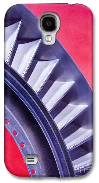 Component Photographs Galaxy S4 Cases - Aircraft Engine Fan Component Galaxy S4 Case by Mark Williamson