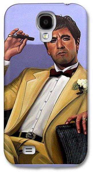 Scarface Galaxy S4 Cases - Al Pacino Galaxy S4 Case by Paul  Meijering