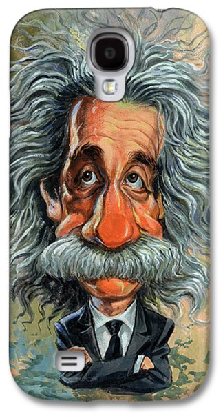 Best Sellers -  - Person Galaxy S4 Cases - Albert Einstein Galaxy S4 Case by Art