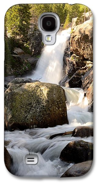Fort Collins Galaxy S4 Cases - Alberta Falls Galaxy S4 Case by Tranquil Light  Photography