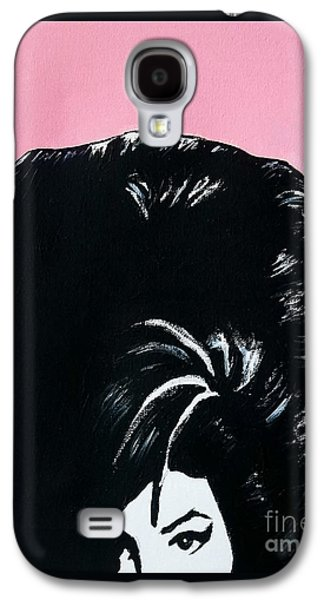 Painter Mixed Media Galaxy S4 Cases - Amy Winehouse Galaxy S4 Case by Venus