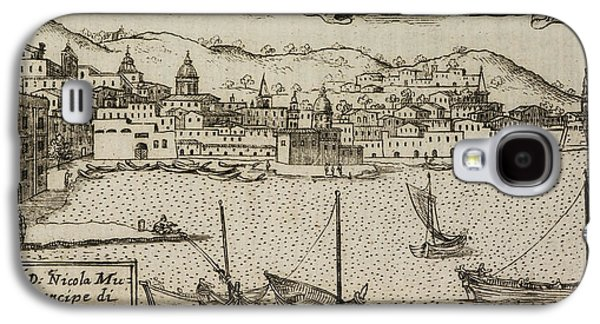 An Illustration Of 18th Century Naples Galaxy S4 Case by British Library