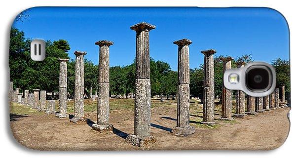 Ancient Galaxy S4 Cases - Ancient Olympia Galaxy S4 Case by Constantinos Iliopoulos