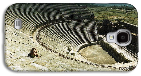 Ancient Civilization Galaxy S4 Cases - Ancient Theatre In The Ruins Galaxy S4 Case by Panoramic Images
