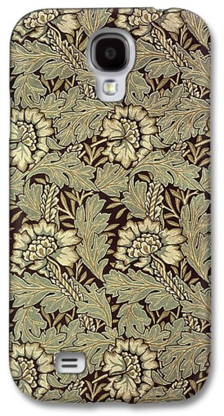 Floral Tapestries - Textiles Galaxy S4 Cases - Anemone design Galaxy S4 Case by William Morris