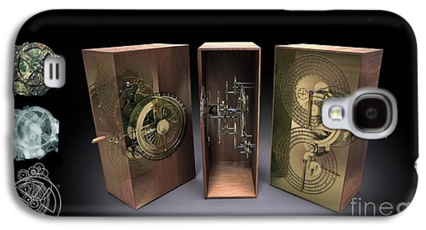 Mechanism Galaxy S4 Cases - Antikythera Mechanism, Artwork Galaxy S4 Case by Jose Antonio Pe??as