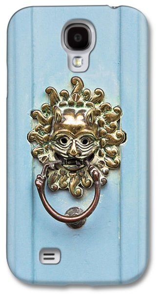 Ancient Galaxy S4 Cases - Antique door knocker Galaxy S4 Case by Tom Gowanlock