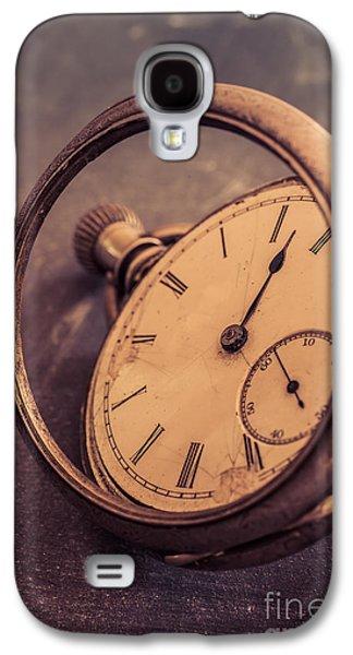 Objects Galaxy S4 Cases - Antique Pocket Watch Galaxy S4 Case by Edward Fielding