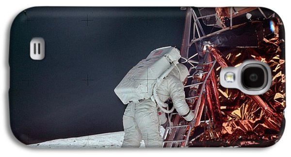 Apollo 11 Moon Landing Galaxy S4 Case by Image Science And Analysis Laboratory, Nasa-johnson Space Center