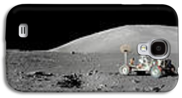 Abstract Digital Galaxy S4 Cases - Apollo 17 Station Galaxy S4 Case by Celestial Images