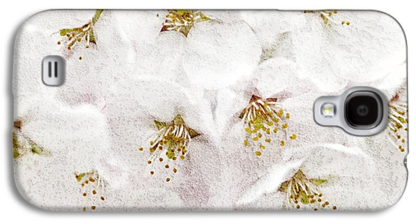 Apple Trees Galaxy S4 Cases - Apple blossoms Galaxy S4 Case by Elena Elisseeva