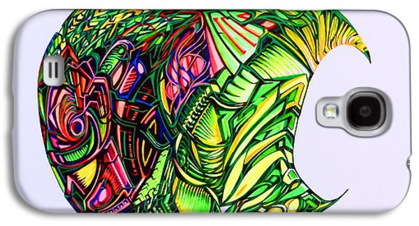 Abstract Digital Drawings Galaxy S4 Cases - Apple Galaxy S4 Case by The Door Project
