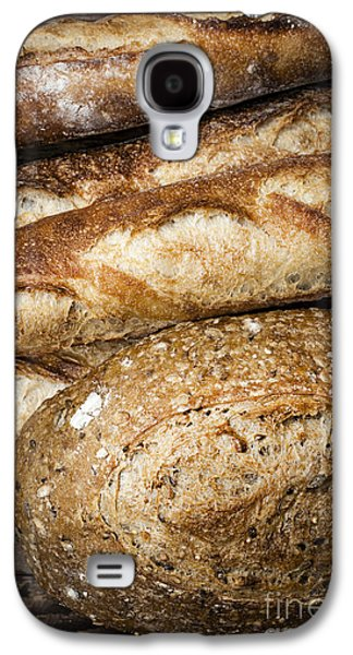 Hand Crafted Galaxy S4 Cases - Artisan bread Galaxy S4 Case by Elena Elisseeva