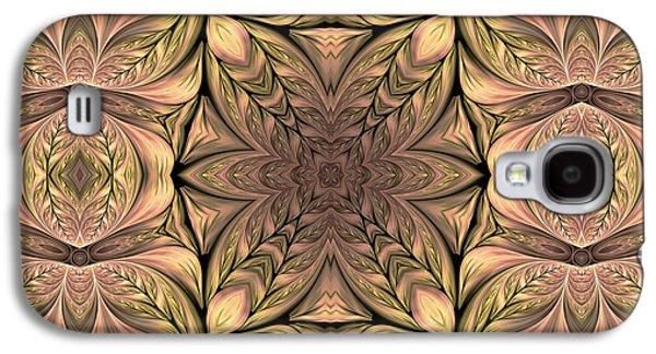 Youthful Digital Art Galaxy S4 Cases - As Seasons Change Galaxy S4 Case by Georgiana Romanovna