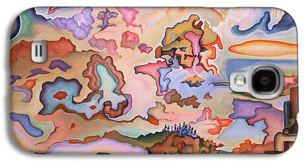 Incarnation Paintings Galaxy S4 Cases - Ascension Galaxy S4 Case by Aswell Rowe