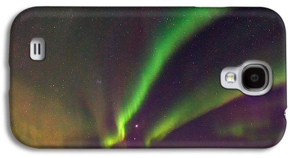Snowy Night Night Galaxy S4 Cases - Aurora Borealis, Lapland, Sweden Galaxy S4 Case by Babak Tafreshi, Twan