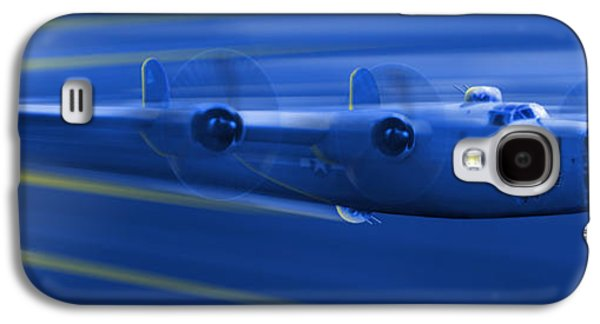 Warbird Galaxy S4 Cases - B-24 Liberator Legend Galaxy S4 Case by Mike McGlothlen