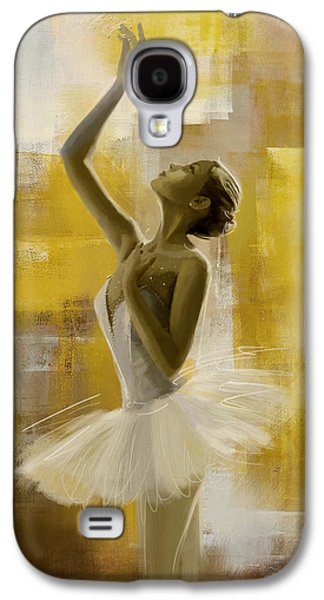 Ballet Dancers Paintings Galaxy S4 Cases - Ballerina  Galaxy S4 Case by Corporate Art Task Force