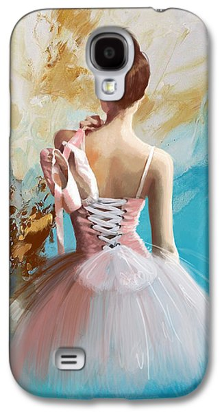 Ballerina's Back Galaxy S4 Case by Corporate Art Task Force