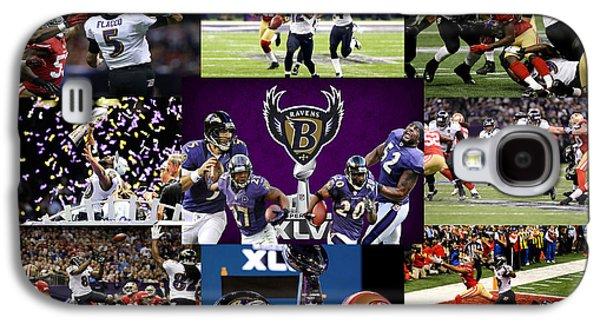 Baltimore Ravens Galaxy S4 Case by Joe Hamilton