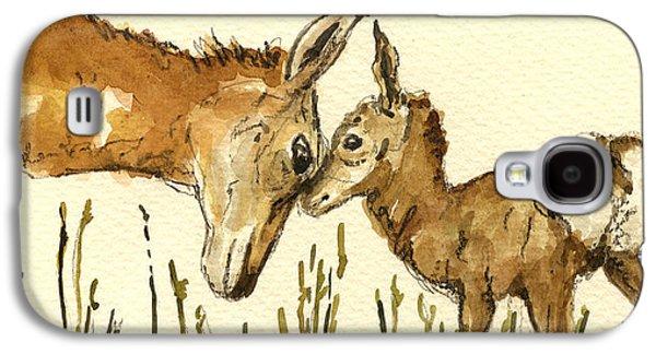 Bambi Deer Galaxy S4 Case by Juan  Bosco
