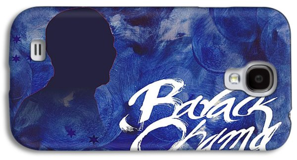 Barack Obama Mixed Media Galaxy S4 Cases - Barack Obama Galaxy S4 Case by Suresh  Suryawanshi