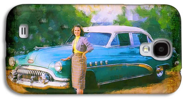 Original Art Photographs Galaxy S4 Cases - Barbara and Buick Galaxy S4 Case by Chuck Staley