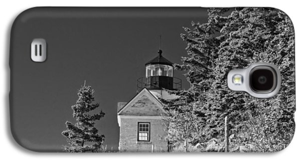 Bass Digital Art Galaxy S4 Cases - Bass Harbor Lighthouse Mount Desert Island Maine Galaxy S4 Case by Keith Webber Jr