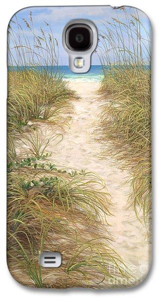 Beach Landscape Galaxy S4 Cases - Beach Access Galaxy S4 Case by Laurie Hein