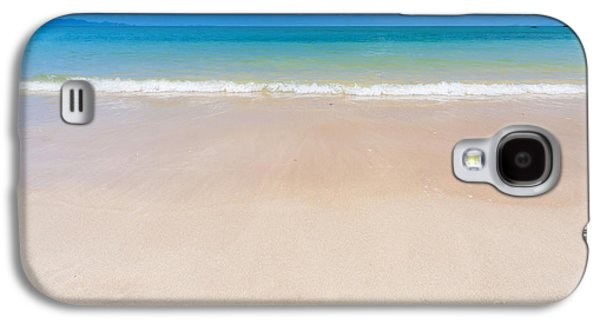 Atmosphere Photographs Galaxy S4 Cases - Beautiful Beach Galaxy S4 Case by Atiketta Sangasaeng